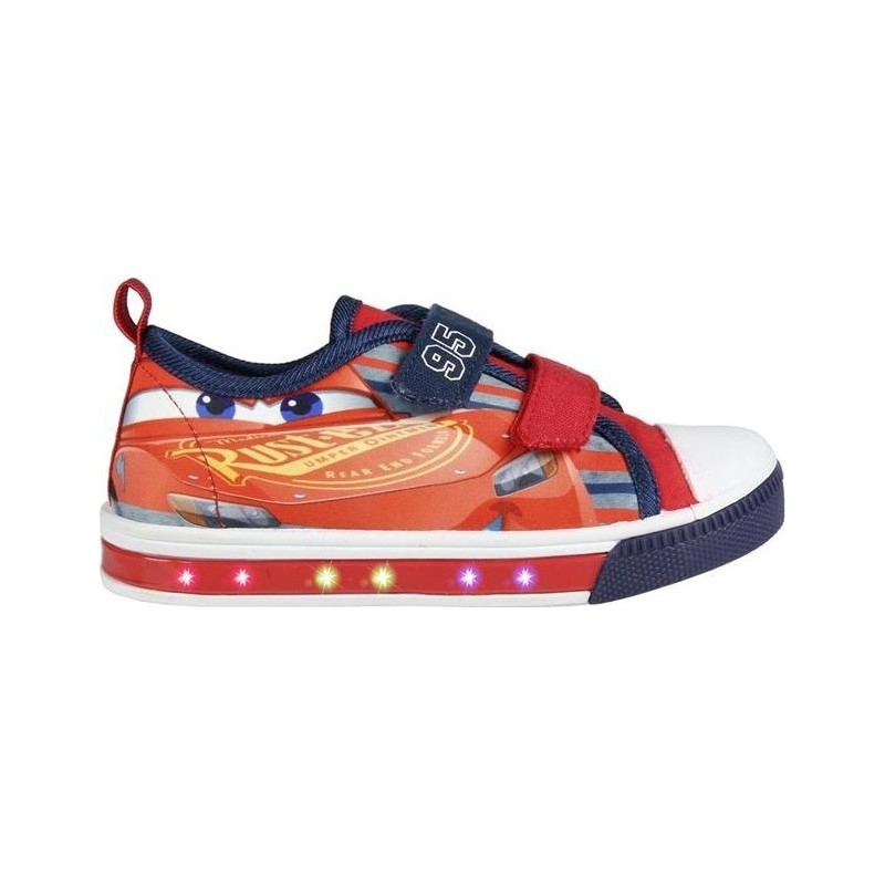 Baskets Cars LED Lumineux Chaussures Lumineux pour Garcon Cars