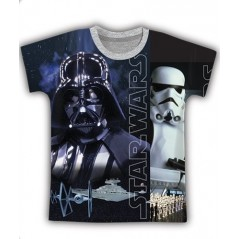 T-shirt Manches Courtes Star Wars - Gris