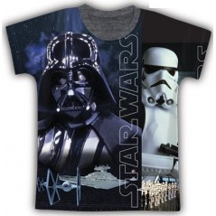 T-shirt Manches Courtes Star Wars - Taupe