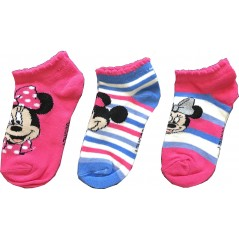 Lot de 3 Paires Socquettes Minnie Disney