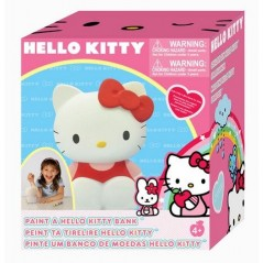 Tirelire à peindre Hello Kitty
