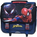 Cartable trolley Spiderman avec roulettes