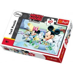 Puzzle 60 pièces micky mouse and freinds