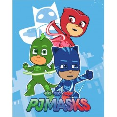Plaid Polaire PJMASKS