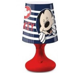 Lampe Led Mickey 18 cm - Rouge