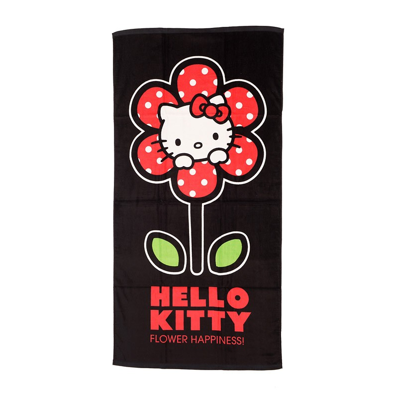 Serviette de Plage Hello Kitty