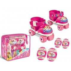 Set Roller Skate Princesse dsiney + Protections La Princesse Dsiney