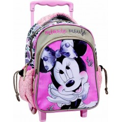 Sac à dos Trolley Minnie En rose