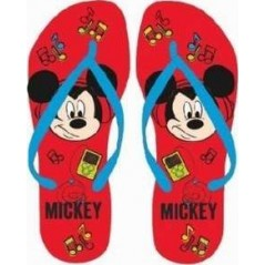 Tong Mickey Disney - Rouge