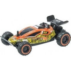 Voiture radiocommandée Buggy 1/28ème - Hot Wheels - Orange
