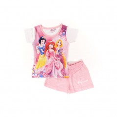 Pyjama Ensemble Tee-shirt / Short Princesses Disney