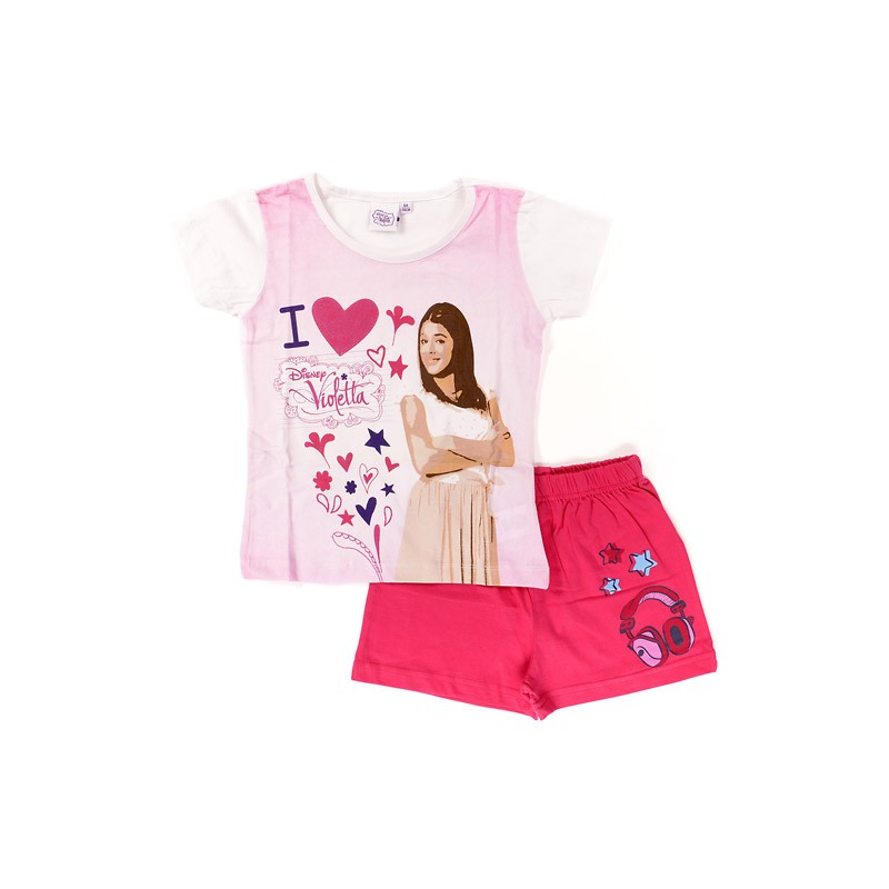 Ensemble Tee-shirt / Short Violetta