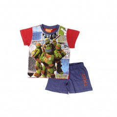 Pyjama Ensemble Tee-shirt / Short tortue ninja