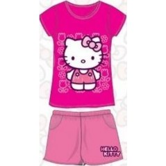 Ensemble T-Shirt et Short de Plage Hello Kitty