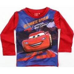 T-shirt Cars Disney manches longues - Rouge