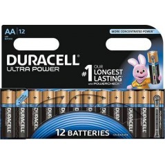 Piles Duracell Ultra Power AA/LR06 x 12