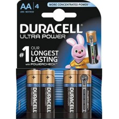 Piles Duracell Ultra Power AAA/LR03 X4