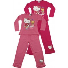 Pyjama long Hello Kitty - Fuchsia