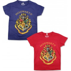 T-shirt manches courtes Harry Potter - Rouge
