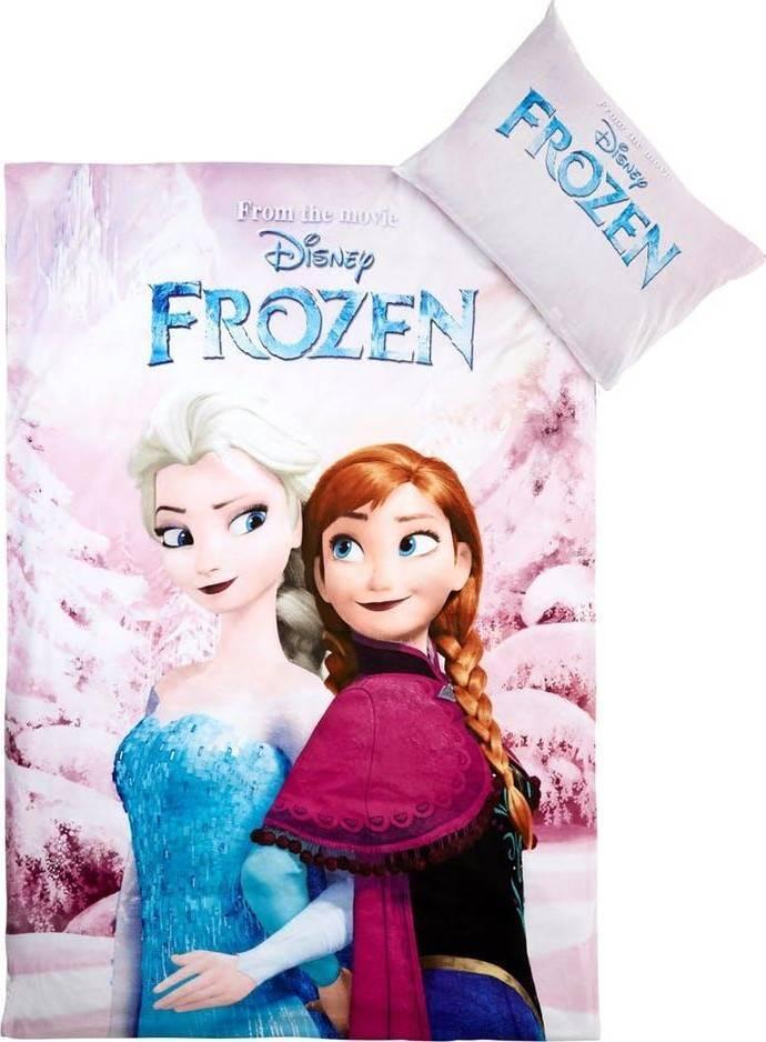 Disney La Reine des Neiges 2 Parure de lit Housse de Couette et sa taie doreiller 100/% Coton 140 x 200 cm 70 x 90 cm