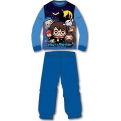 Pyjama Polaire Harry Potter - Bleu