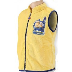 Gilet coral Minions - Jaune