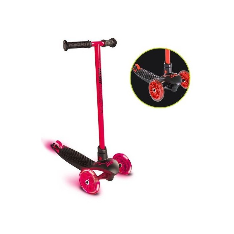 NEON - Patinette 3 Roues Neon Glider Red