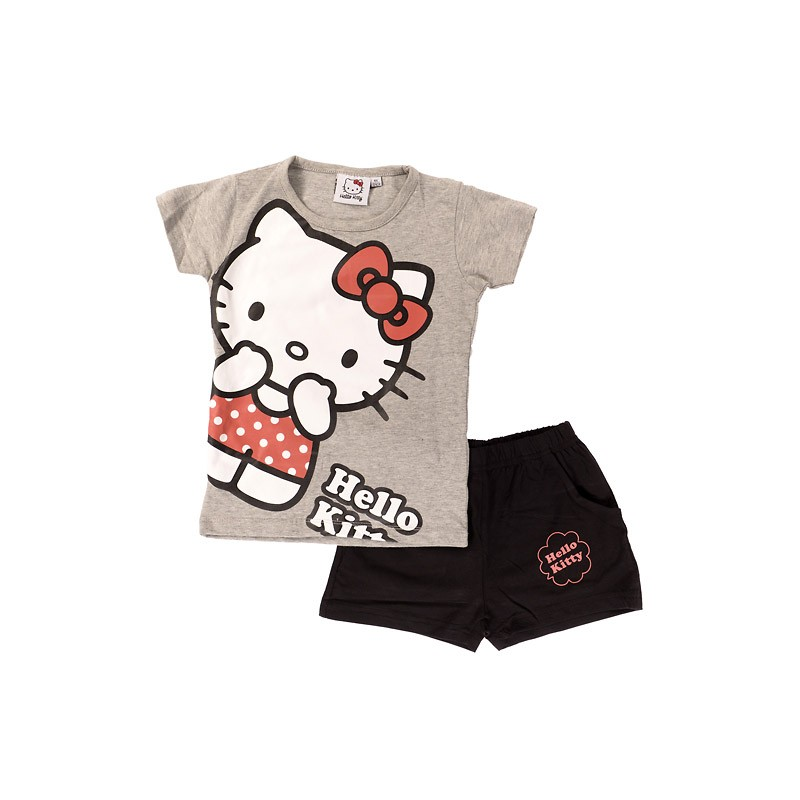 Ensembles Tee-shirt / Short de plage Hello Kitty