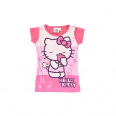 Tee-Shirt Manches Courtes Hello Kitty