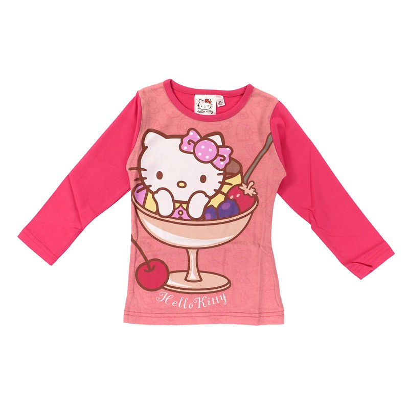 Tee-Shirt Manches Longues Hello Kitty