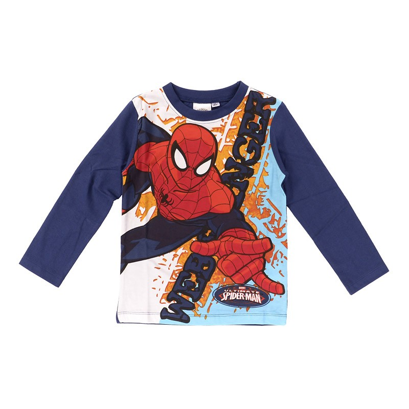 Tee-Shirt Manches Longues Spiderman