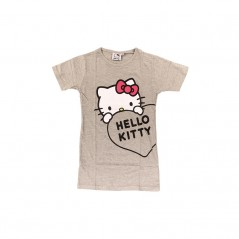 Chemise de Nuit Manches Courtes Hello Kitty